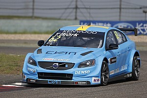 WTCC Race report Shanghai WTCC: Bjork gives Volvo maiden win after last-lap move