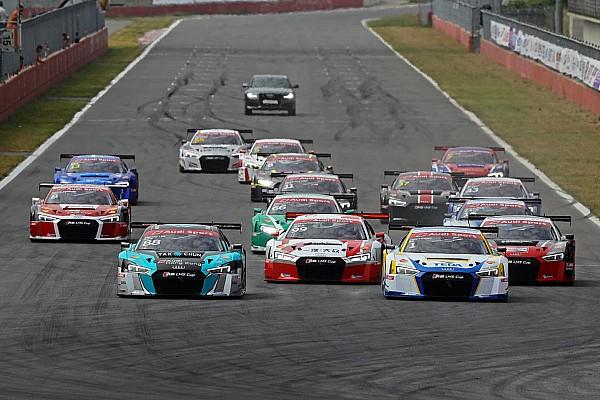 Audi R8 LMS Cup Korea Audi R8 LMS Cup: Patel scores points in both races