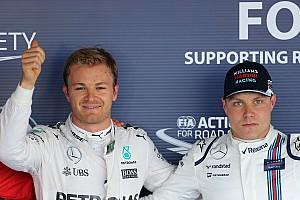Formula 1 Breaking news Rosberg won't tell Bottas