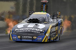 NHRA Testing report Hagan, Brown, Enders lead first day of NHRA Spring Training