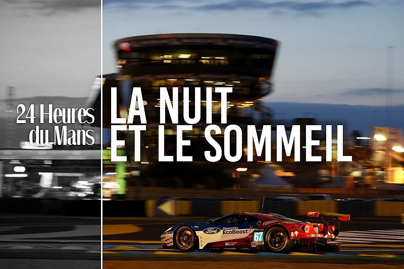 Dans la peau d'un pilote : la nuit au Mans