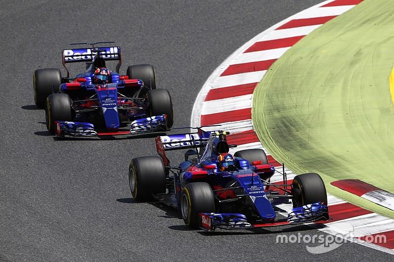 В Toro Rosso не смогли в Барселоне заставить обновления работать