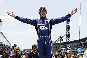 Indy Lights Race report Freedom 100: Leist conquers Indy with victory on oval debut