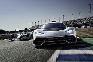 OTOMOBİL Son dakika F1 motorlu yol otomobili Mercedes-AMG Project One tanıtıldı!