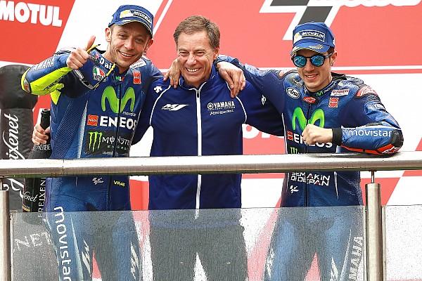 Yamaha-Entwicklung: Valentino Rossi hat mehr zu sagen als Maverick Vinales