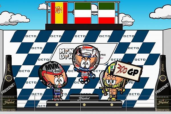 Vídeo: el GP de Gran Bretaña 2017 de MotoGP, por MiniBikers