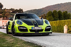 Auto Actualités Photos - L'unique Porsche 911 GTstreet R par TechArt