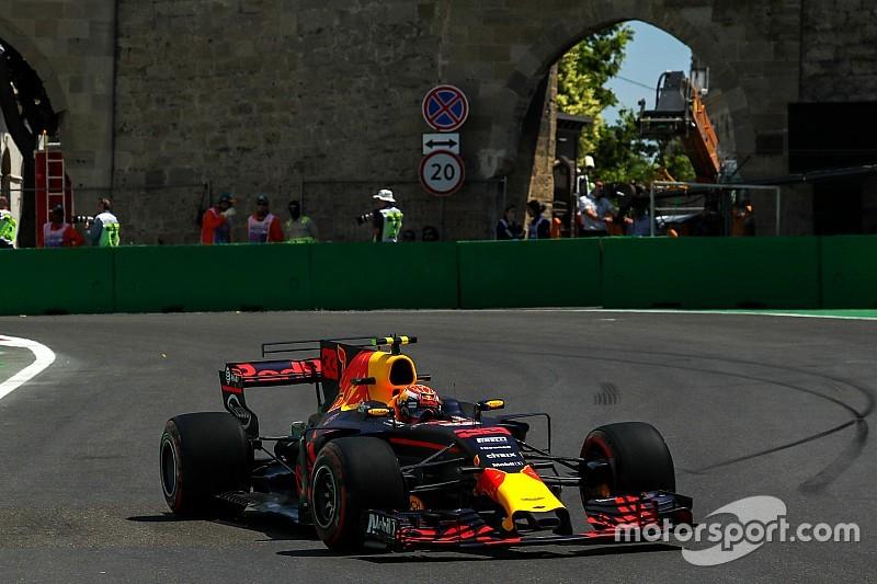 Red Bull vivió su mejor viernes de la temporada