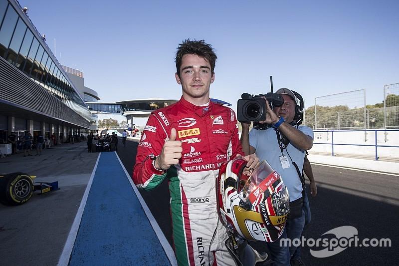 Jerez F2: Leclerc, çılgın finişin ardından 2017 şampiyonu oldu!