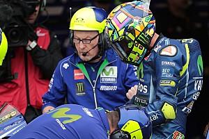 MotoGP Reactions Kembali terjatuh, Rossi heran dengan motornya