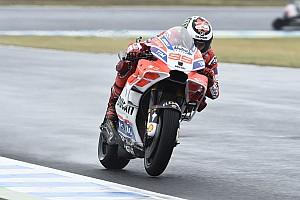 MotoGP Réactions Dovizioso et même Lorenzo souhaitent une course sous la pluie