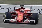 """Forma-1 Raikkönen """"hasít"""" az új Ferrarival Fioranóban (képek, videó)"""
