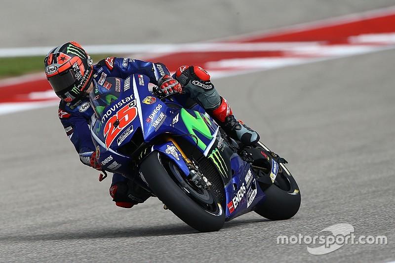 Austin MotoGP: Vinales heads Marquez in opening practice