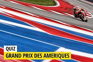 MotoGP Preview Quiz - Testez vos connaissances sur le GP des Amériques!