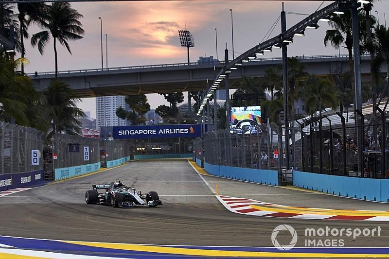 Mercedes: Grundstein für Singapur-Pole in Spa gelegt