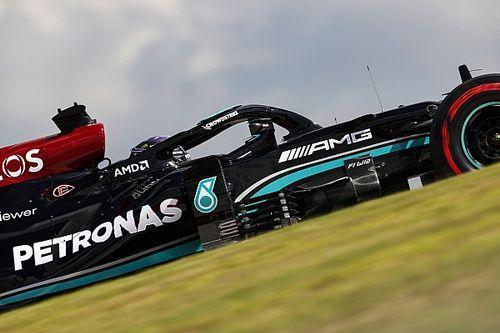 """Horner ziet slimmigheid Mercedes: """"Achterkant zakt iets op rechte stuk"""""""