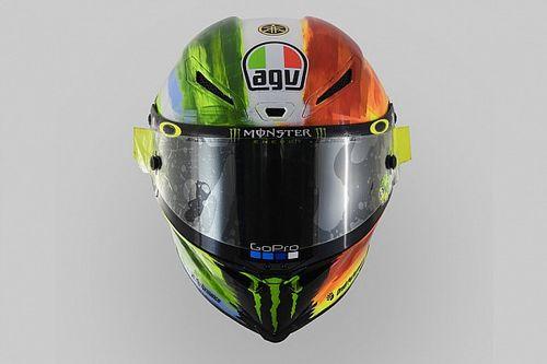 Photos - Le casque de Valentino Rossi pour le Mugello