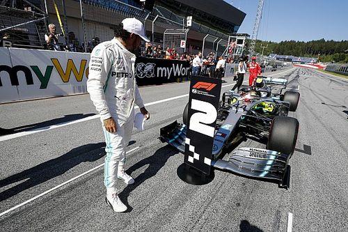 Hamilton, sancionado con tres posiciones en el GP de Austria