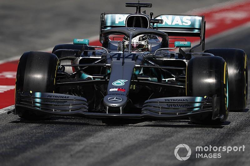 Vettel sorprendido por la amplitud de las actualizaciones de Mercedes