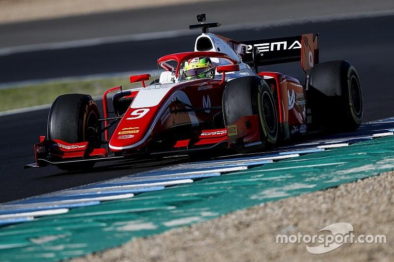 F2 Jerez testi: Schumacher testleri zirvede tamamladı