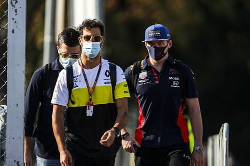 Ricciardo: ''Şu anda Max'la arkadaş olmamız daha kolay''