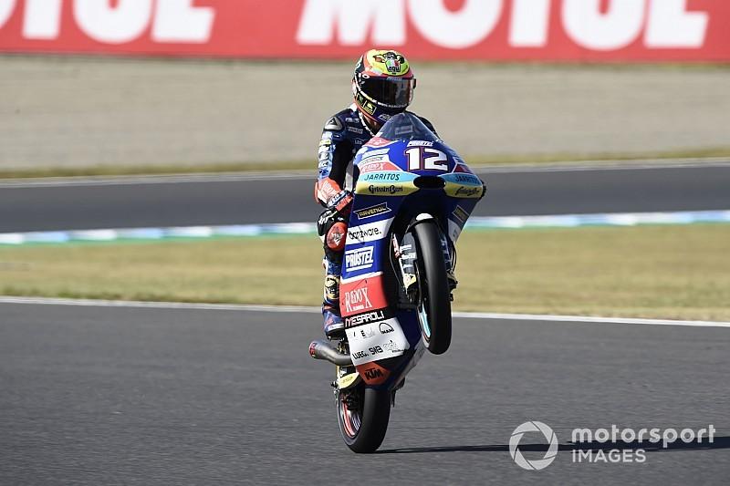 Moto3: Bezzecchi vince in volata a Motegi e riapre il Mondiale con il ko di Martin