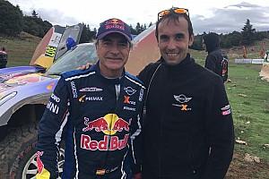 El líder del buggy de Sainz en el Dakar que estudió ingeniería por Alonso