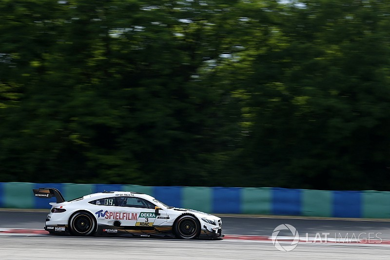 Hungaroring DTM: Di Resta wins from 13th, safety car thwarts Audi