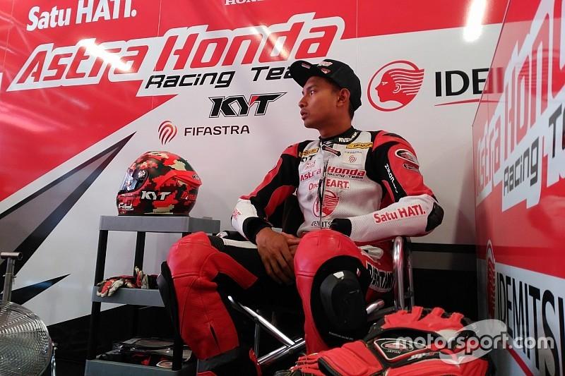 Demi CEV Moto2 Valencia, Dimas Ekky banyak berlatih