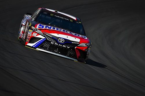 NASCAR using the Tire Dragon to rubber-in Kentucky Speedway