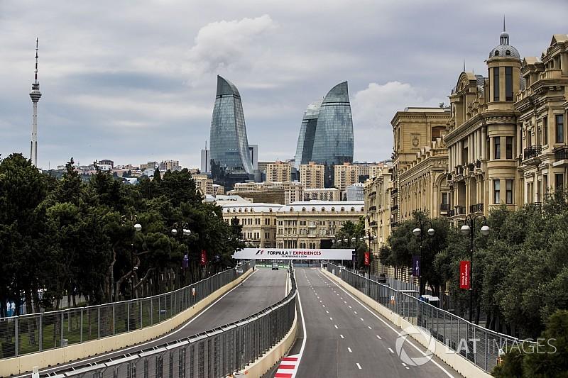 Los horarios del GP de Azerbaiyán