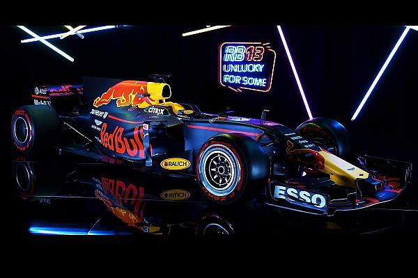 Fórmula 1 Últimas notícias Cercada de expectativas, Red Bull lança RB13