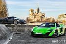 Auto Photos - Deux McLaren très spéciales se retrouvent à Paris