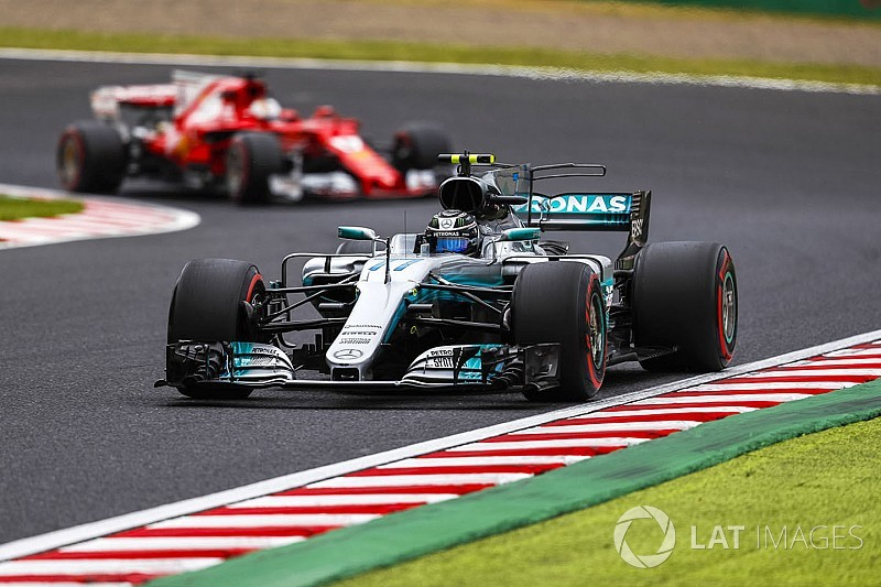 2017 Japonya GP 3. antrenman: Bottas lider, Raikkonen kaza yaptı