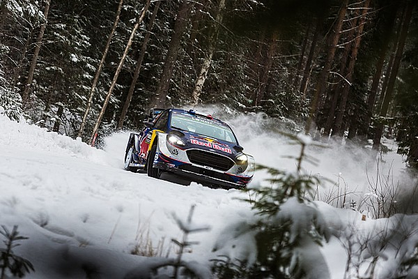 WRC Breaking news Sweden spin one of my