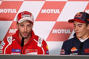Tidak diunggulkan, Dovizioso santai hadapi Marquez