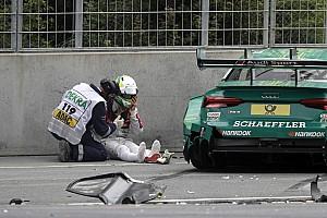 DTM News Mike Rockenfeller nach DTM-Crash: