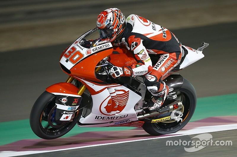 【Moto2カタール】決勝:中上貴晶3位表彰台獲得。モルビデリ初優勝