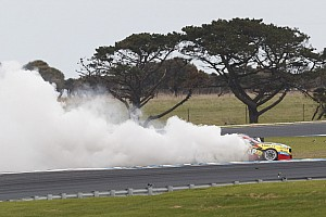 Supercars Breaking news Mostert fined $3000 for victory burnout