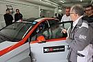 Larini prova le otto vetture TCR per definire il BoP