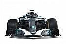 Formule 1 Comparaison entre les Mercedes F1 W08 et W09