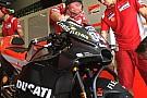 Ducati: due nuove carene in pista nel primo giorno di test a Buriram