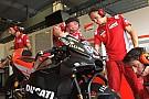 موتو جي بي دوفيزيوزو يجد صعوبة في اختيار الجنيّحات الانسيابية الملائمة لدراجة دوكاتي