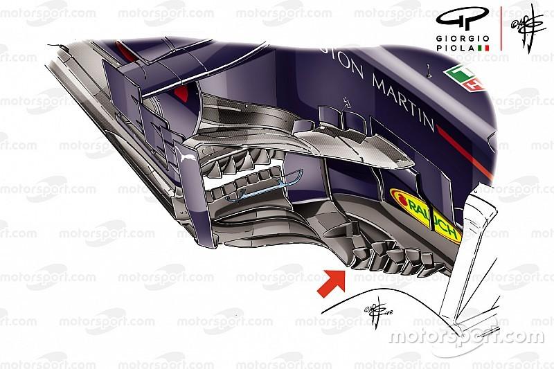 Red Bull aerodinamik performansı geliştirmeye devam ediyor