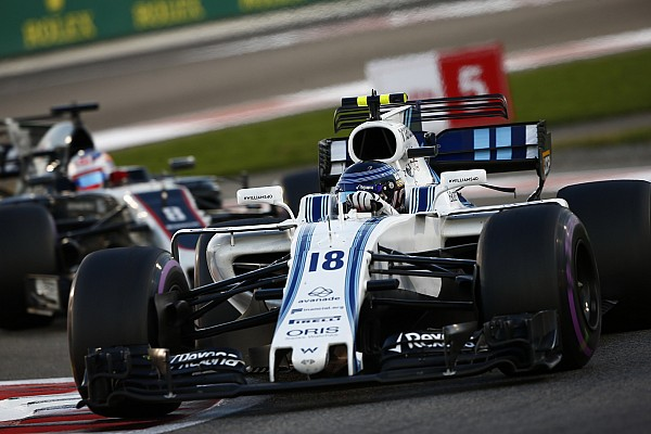Williams espera un gran avance de Stroll en 2018