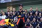 Ricciardo sabe que en su próximo contrato se juega su título de F1