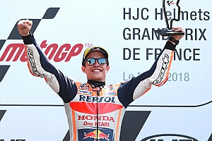 MotoGP Race report Le Mans MotoGP: Marquez wins, Dovizioso and Zarco crash