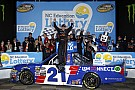 NASCAR Truck Johnny Sauter pulls away for first Truck win at Charlotte