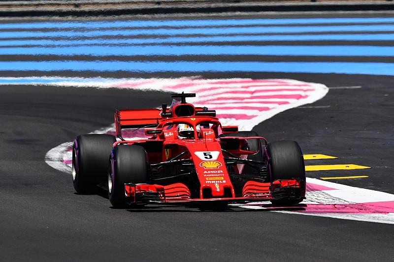 Vettel in Frankreich im Rückstand, aber bärenstark im Longrun