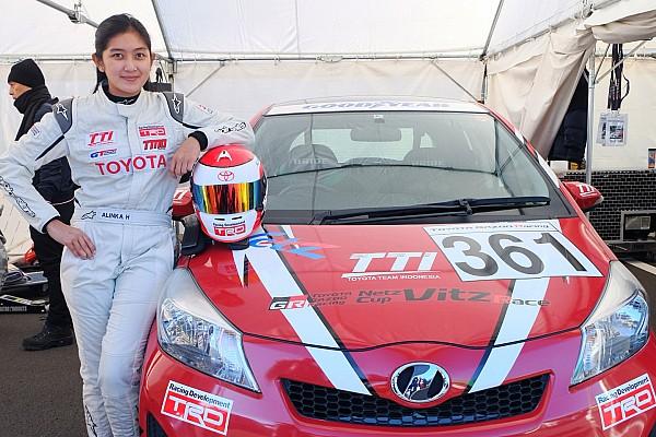 Other cars Interview Alinka berbagi pengalaman di Toyota Gazoo Racing Festival